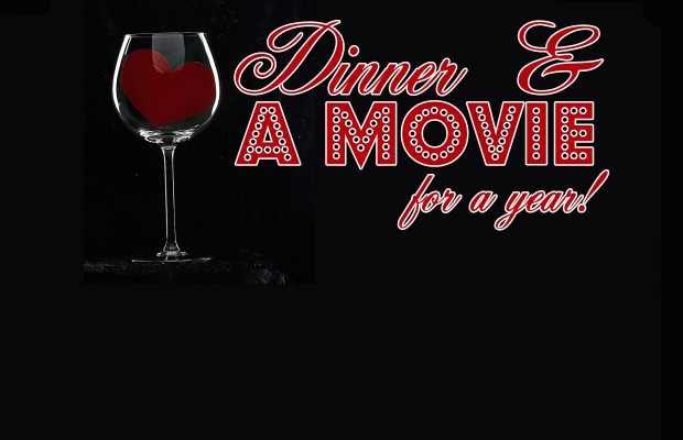 Valentine's Day – Win Dinner and a Movie For a Year!