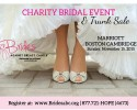charity bridal event